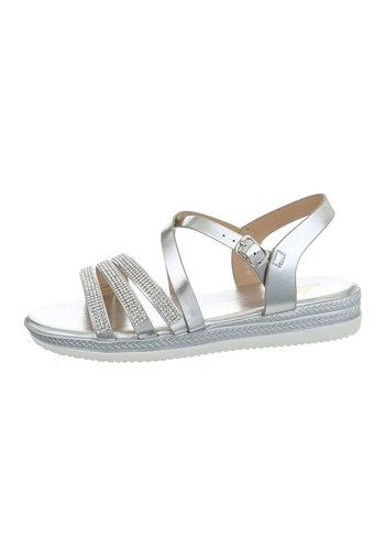 Neckermann Damen Flash Sandalen Silber D-120