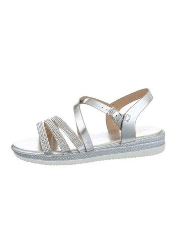 Neckermann Dames flash sandalen zilver D-120