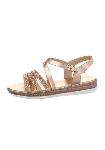 Neckermann Damen Flash Sandalen Champagner D-120