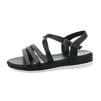 sandales flash femme noires D-120