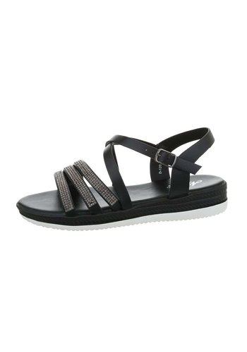 Neckermann dames flash sandalen zwart D-120