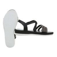 dames flash sandalen zwart D-120