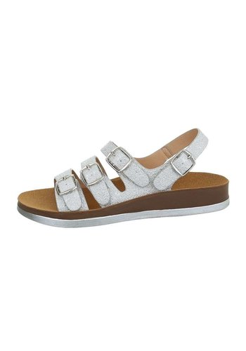 Neckermann damen flash sandalen silber 6864