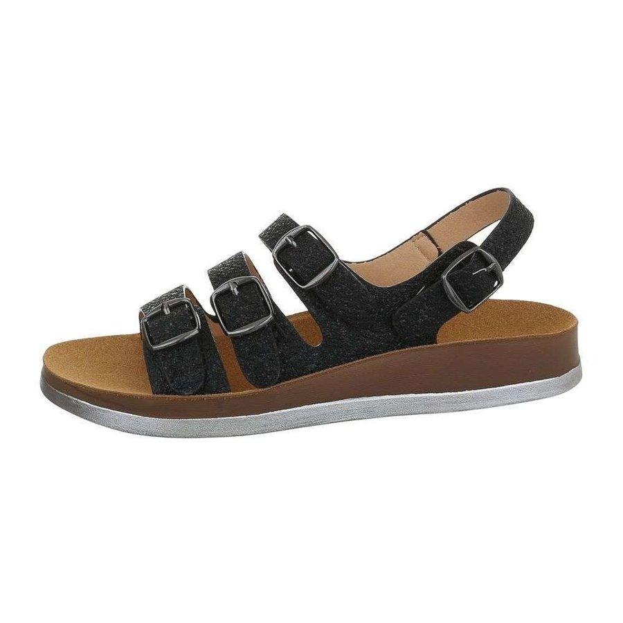 sandales flash femme argent 6864