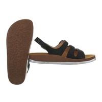 dames flash sandalen zilver 6864