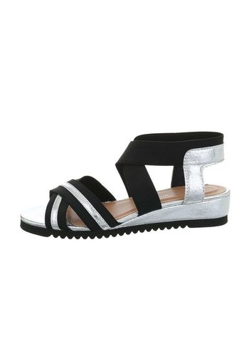 Neckermann damen flash sandalen silber 6580