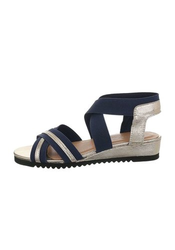 Neckermann dames flash sandalen goud 6580