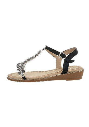 Neckermann Dames flash sandalen zwart 6216