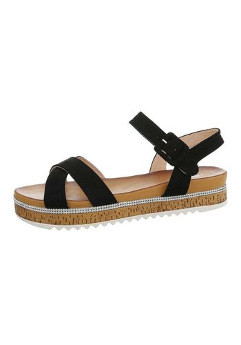 Neckermann Damen Flash Sandalen schwarz 7095