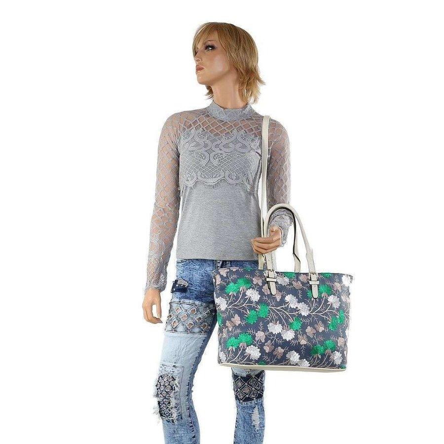 Shopper femme blanc TA-1135-56