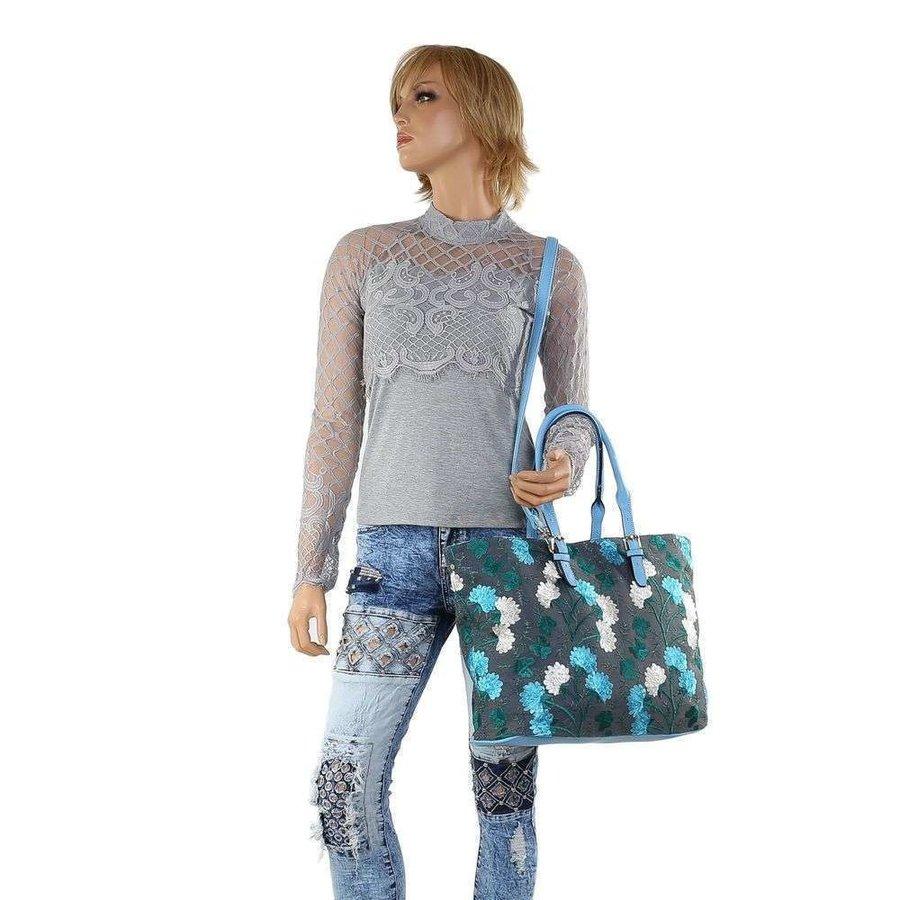 Dames shopper blauw TA-1135-56