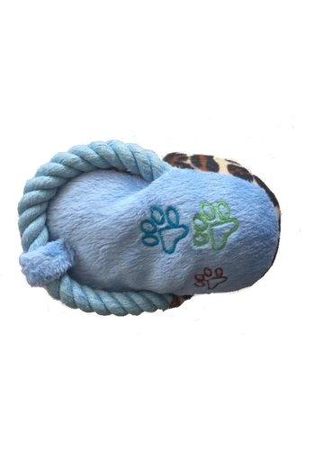 Neckermann Tijgerpootje - speeltje - blauw
