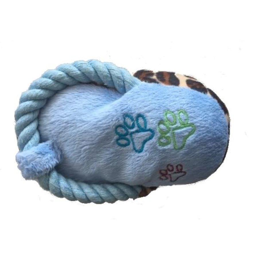 Pied de tigre - jouet - bleu