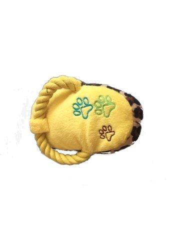 Neckermann Tijgerpootje - speeltje - geel
