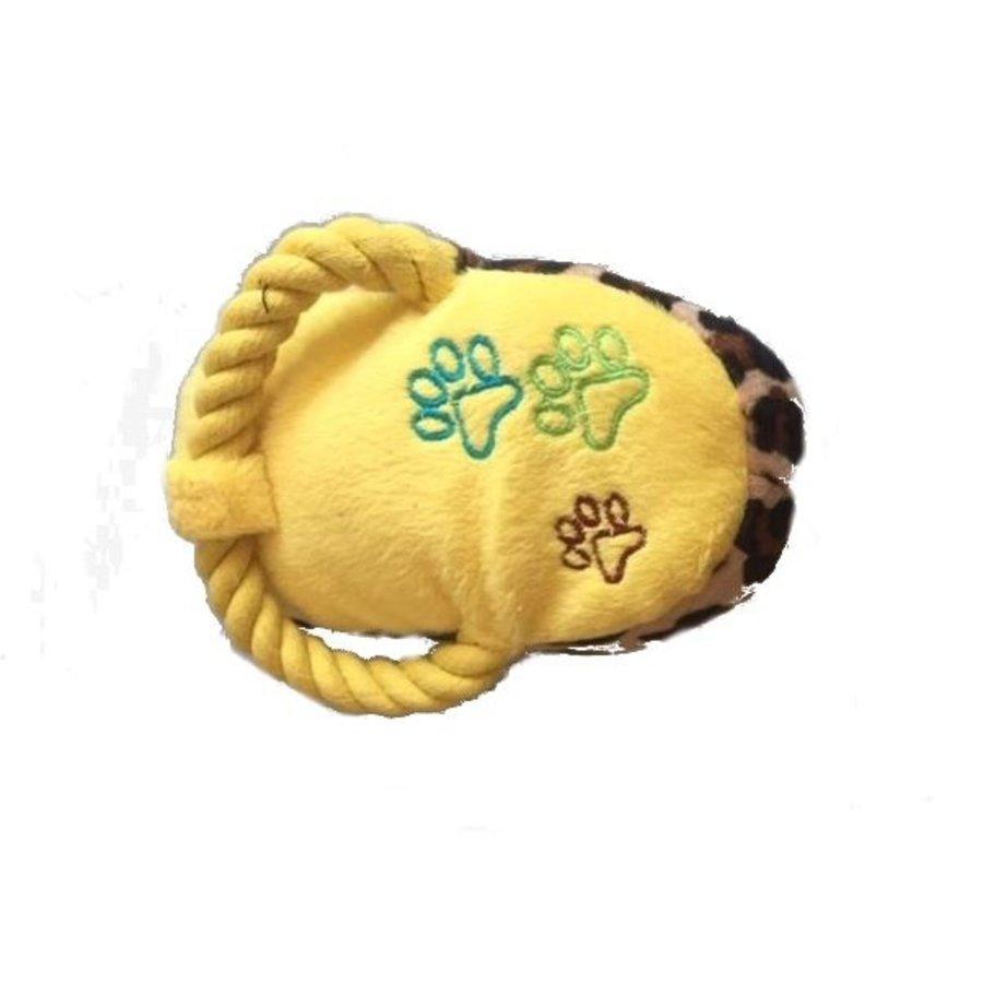 Tijgerpootje - speeltje - geel