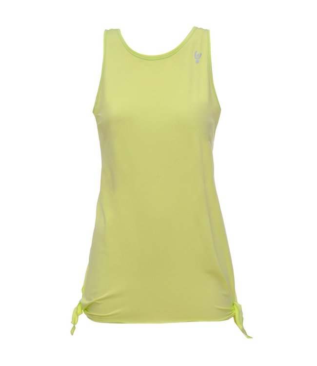 Sweat Top TANK TOP IN SEAMLESS TECHNICAL FABRIC, BOW-TIED ON SIDE