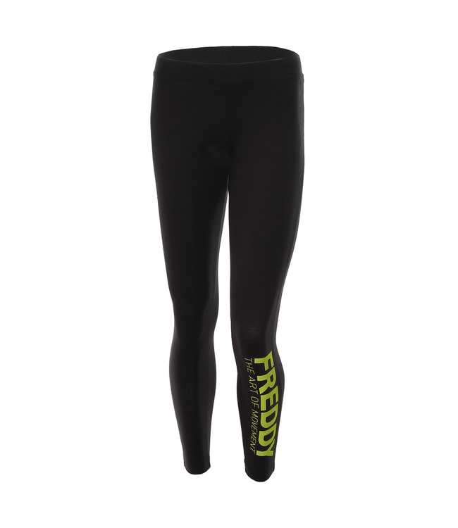 Fitness ANKLE-LENGTH LEGGINGS IN VISCOSE JERSEY WITH A PRINT