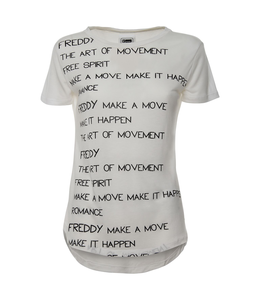 T-Shirt T.SHIRT SHORT SLEEVES WITH WRITING ALL FRONT