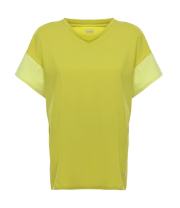 T-Shirt COMFORT FIT T-SHIRT WITH CONTRAST FABRIC INSERTS