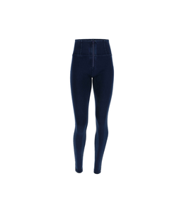 WR.UP® WR.UP® HIGH-RISE SKINNY-FIT TROUSERS IN STRETCH DENIM