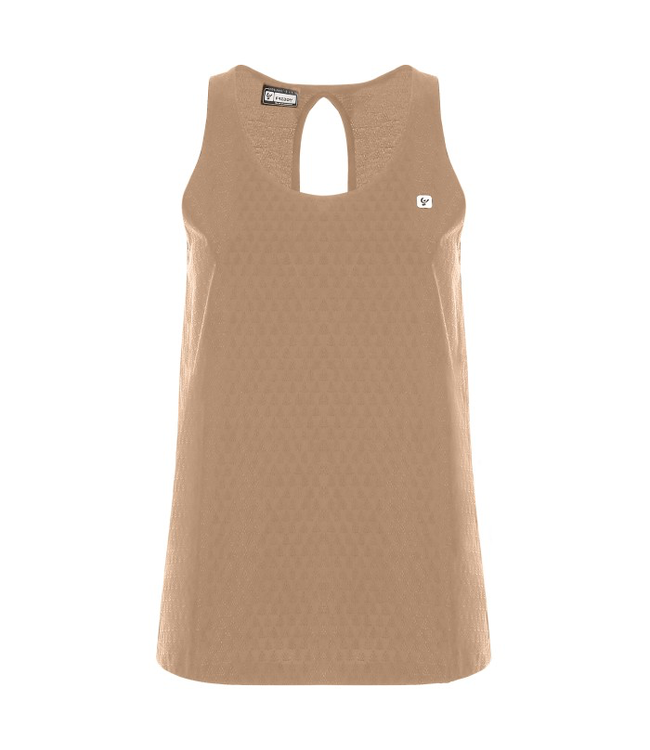 TOP COMFORT FIT BIO-BASED TEXTURED JERSEY TANK TOP - 100% MADE IN ITALY