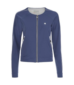 Jacket JERSEY SWEATSHIRT WITH CONTRAST PIPING - 100% MADE IN ITALY
