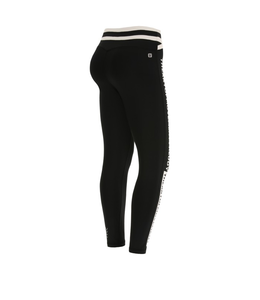 Super Fit SUPERFIT LEGGINGS IN D.I.W.O.® FABRIC WITH A TWO-TONE CRISS-CROSS WAIST