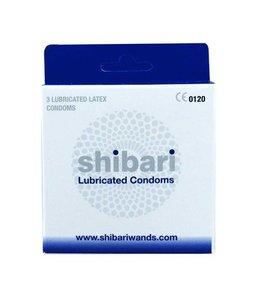 Shibari Shibari Condooms Met Glijmiddel - 3 Stuks