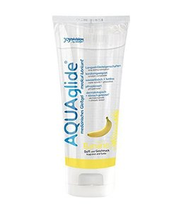 Joydivision AQUAglide Glijmiddel Banaan - 100 ml