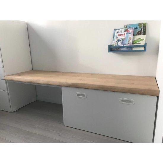Stuva bureau eikenhouten plank