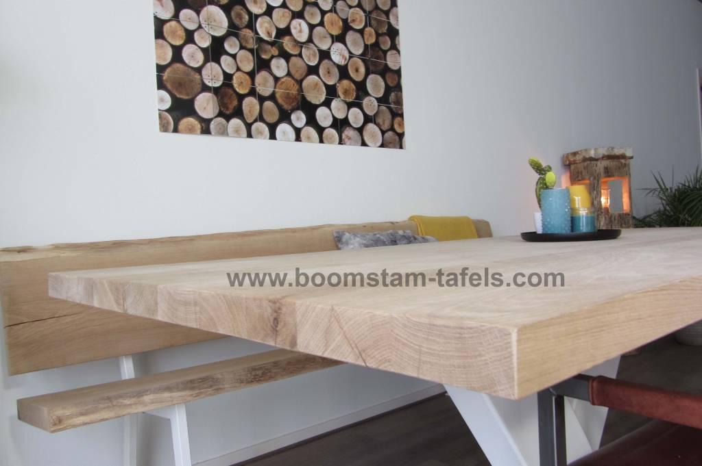Eiken tafelblad 280x100