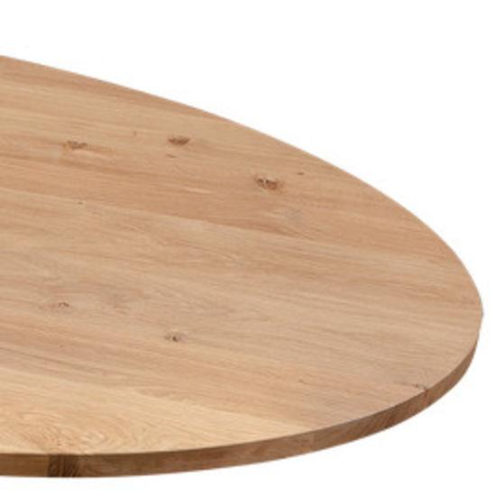 Ovale tafelblad 220x110