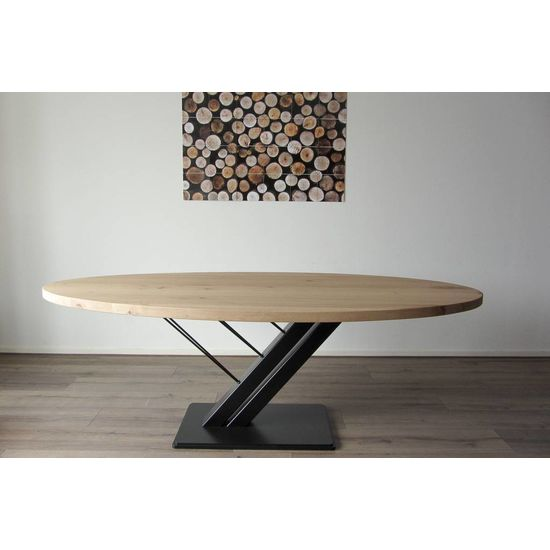 Ovale tafel 'Harpij