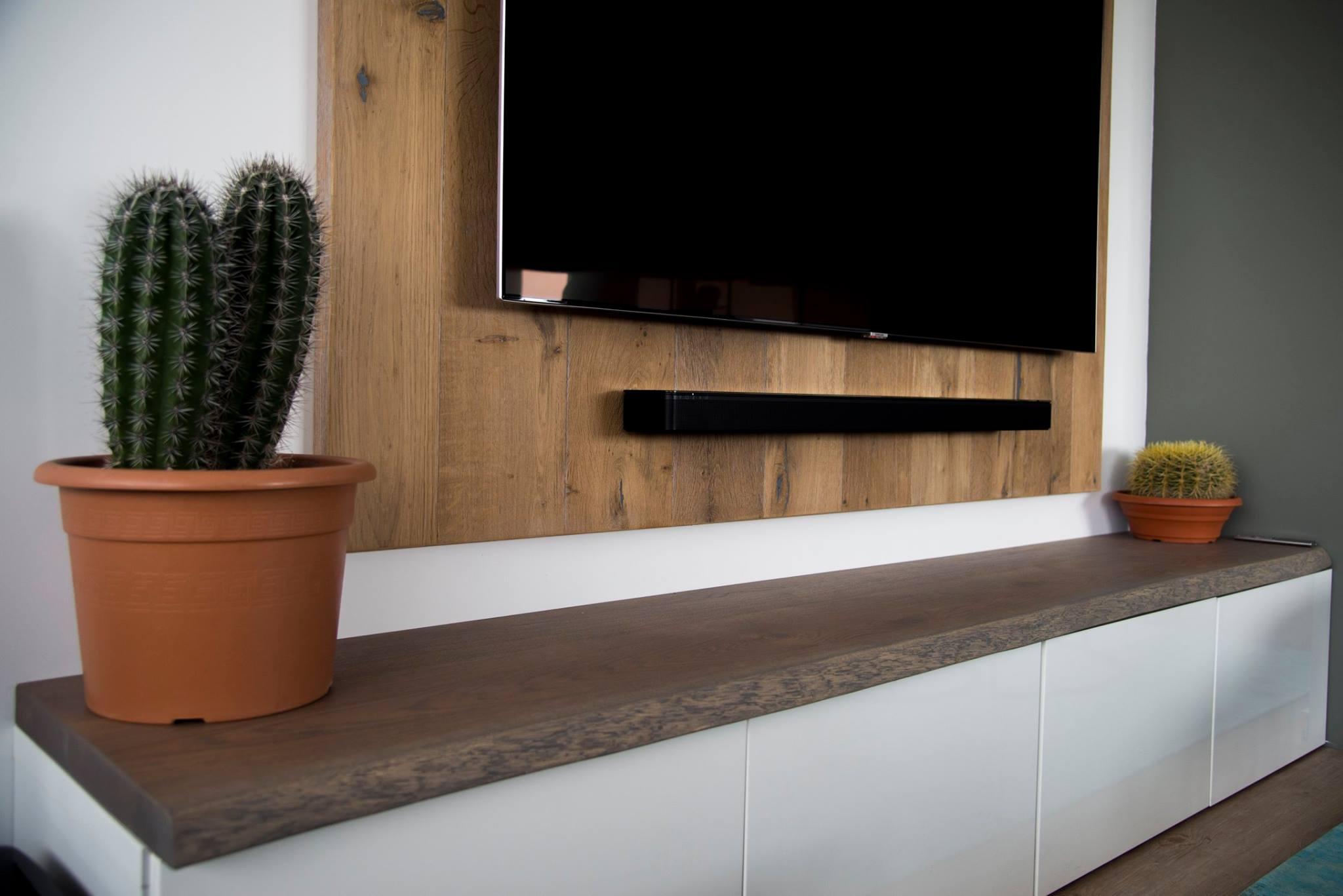 Inspiratie Blog Eikenhouten Plank Op Ikea Besta Tv Meubel