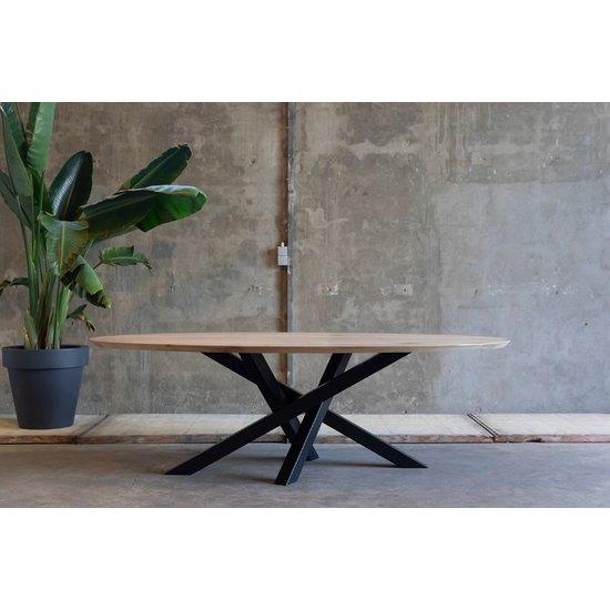 Ovale tafel 'Kluut'