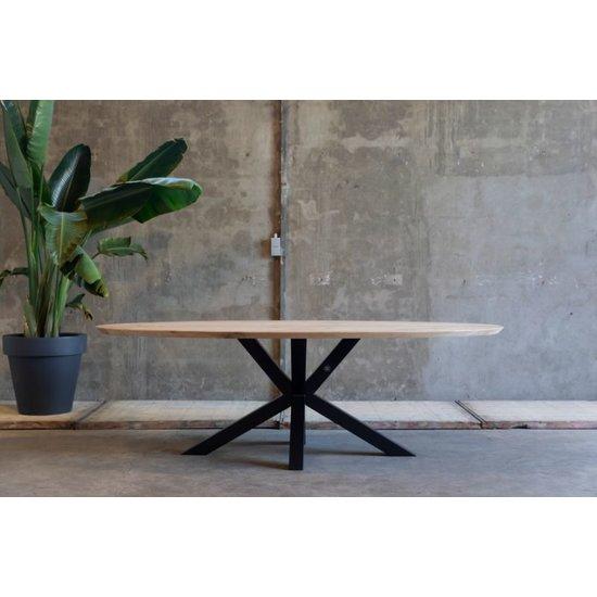 Ovale tafel 'Rietgors'