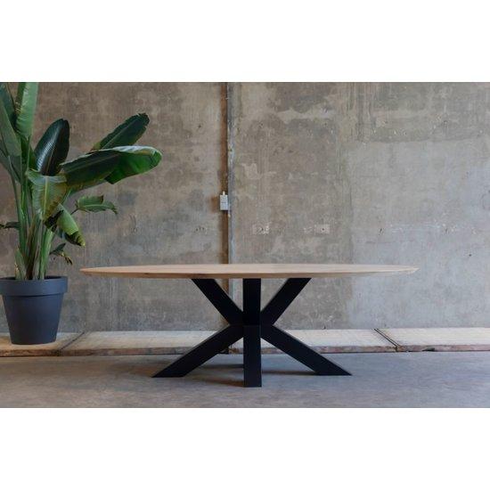 Ovale tafel 'Patrijs'