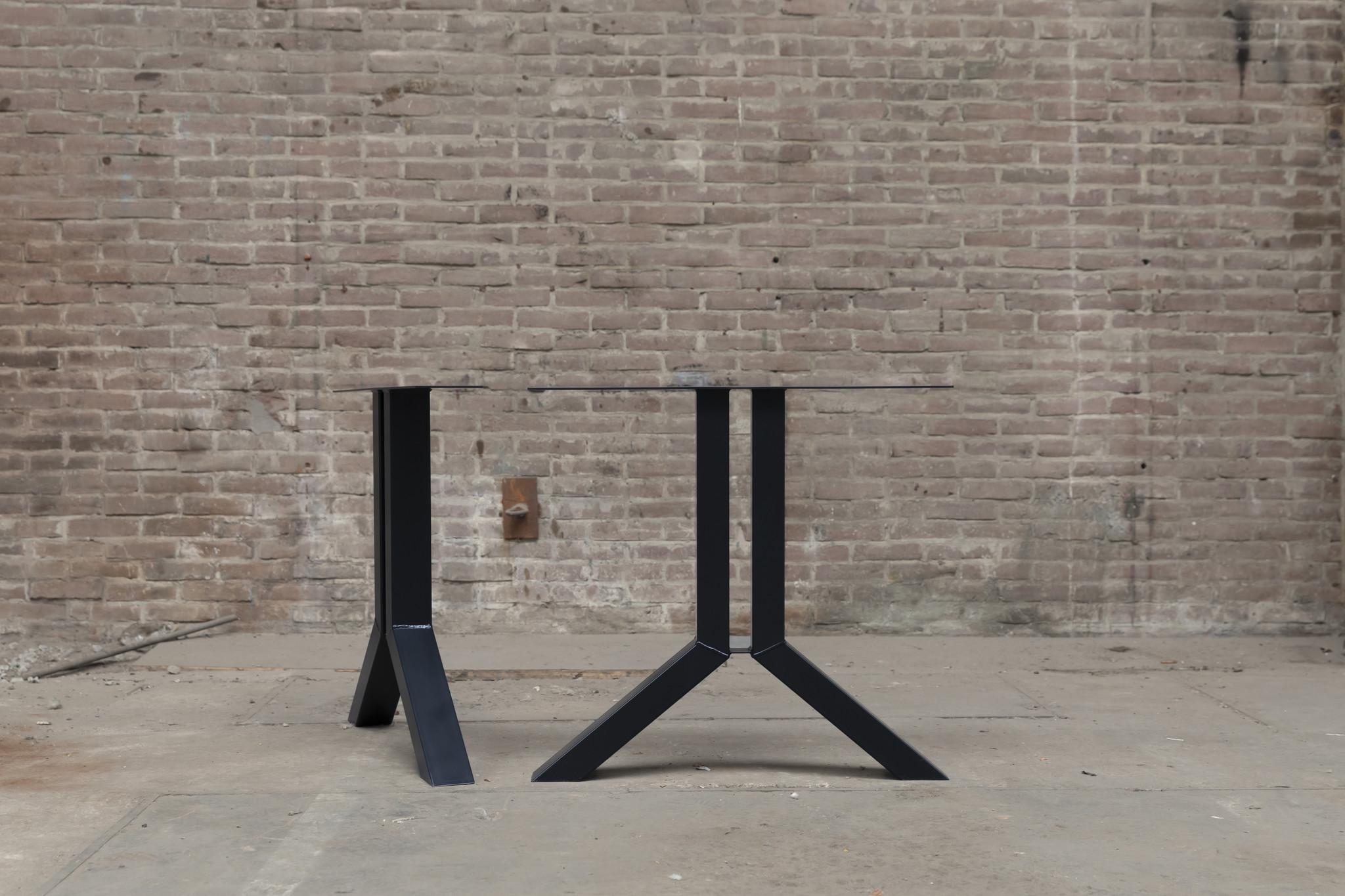 Split tafelpoot zwart