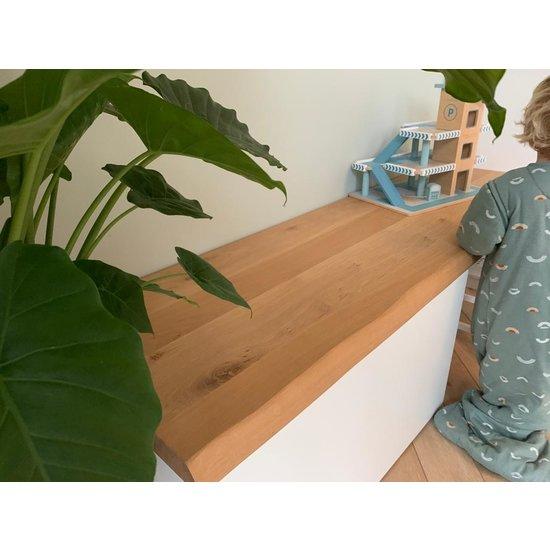 Smastad bureau eikenhouten plank