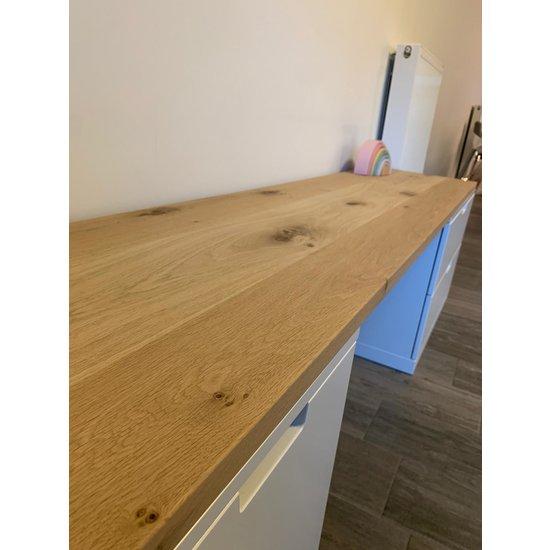 Nordli bureau eikenhouten plank