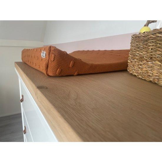 Eikenhouten plank voor Hemnes kast