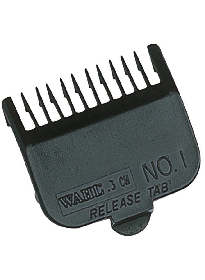 Wahl Opzetkam Type 1 - Plastic Zwart