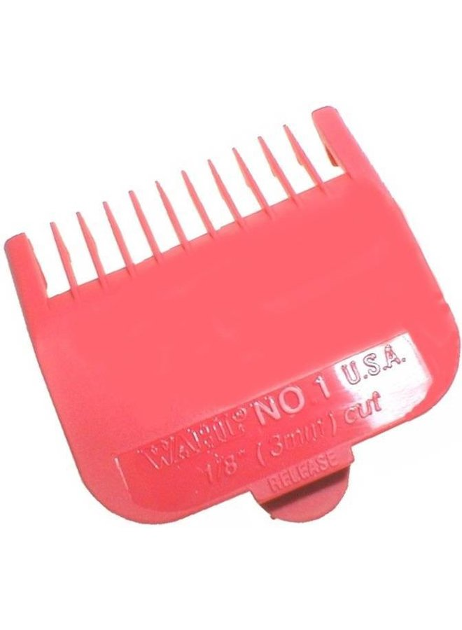 Wahl Attachment Combs Type 1 - Plastic Coloured