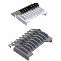 Wahl Attachment Comb Set Type 19 - Metal strip with color code # ½ & # 1½ (1,5 & 4,5mm)