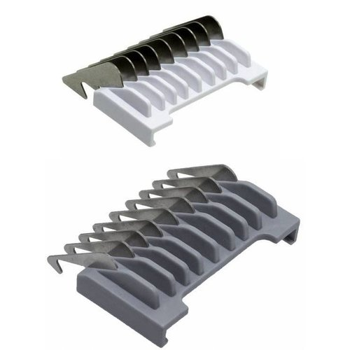 Wahl Opzetkamset Type 19  - Metalen Lamel met Kleurcode  #½ & #1½ (1,5 & 4,5mm)