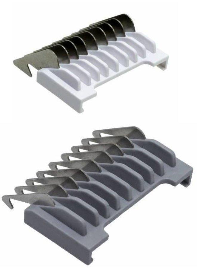 Wahl Aufsteckkämmsatz Typ 19 - Metallstreifen mit Farbcode # ½ & # 1½ (1,5 & 4,5mm)