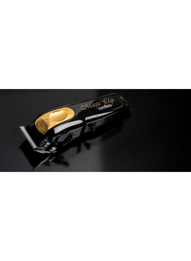 Wahl Magic Clip Cordless Tondeuse Zwart & Goud (Limited Edition)