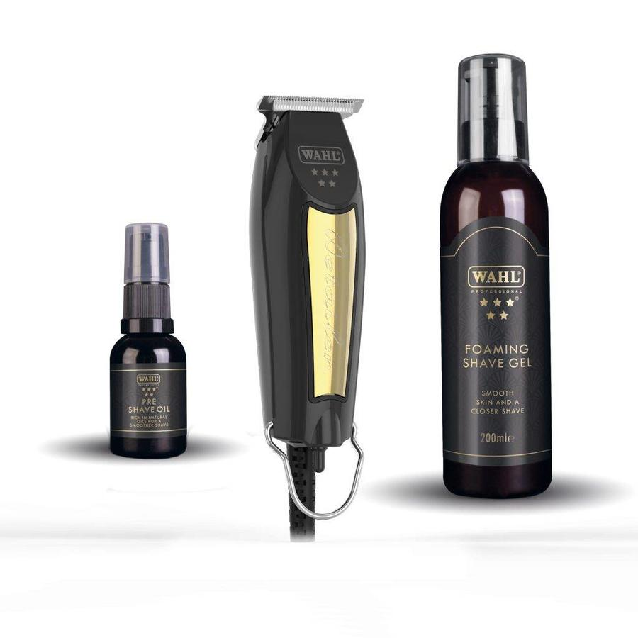 Wahl Detailer Trimmer T-Wide 32mm - Zwart & Goud Limited Edition Set