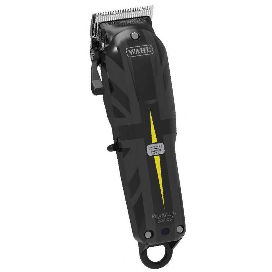 Wahl Super Taper Cordless Clipper - Limited Edition Union Jack Edition