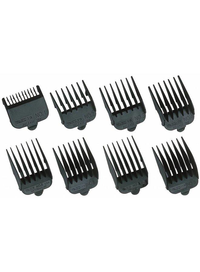 Wahl Attchment Comb Type 1- Plastic Black - Copy